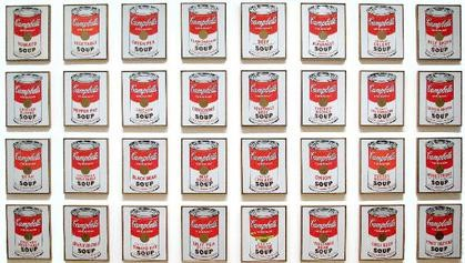 Warhol Campbell Soup's can