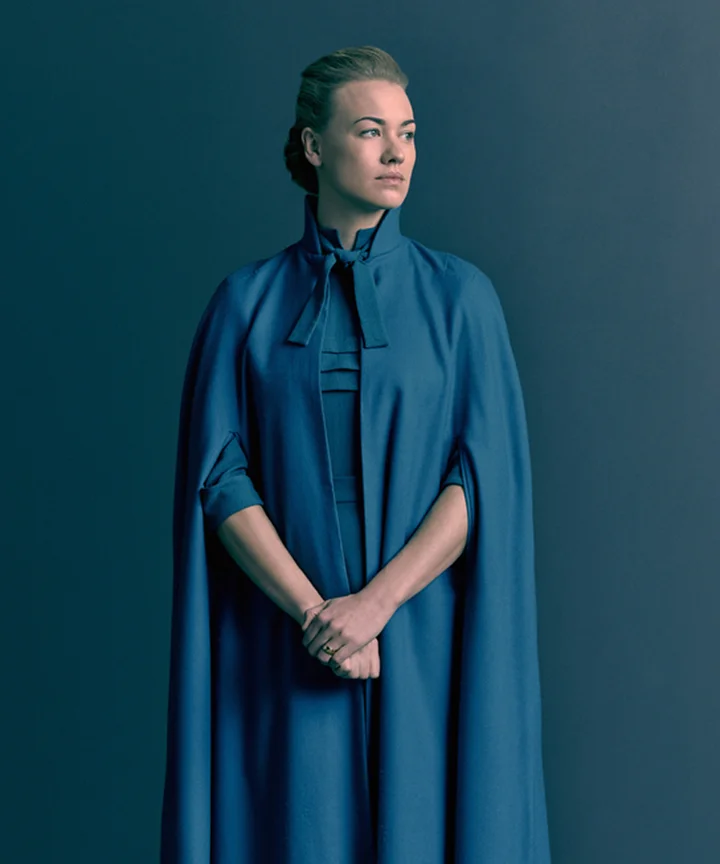 Serena in The Handmaid's Tale