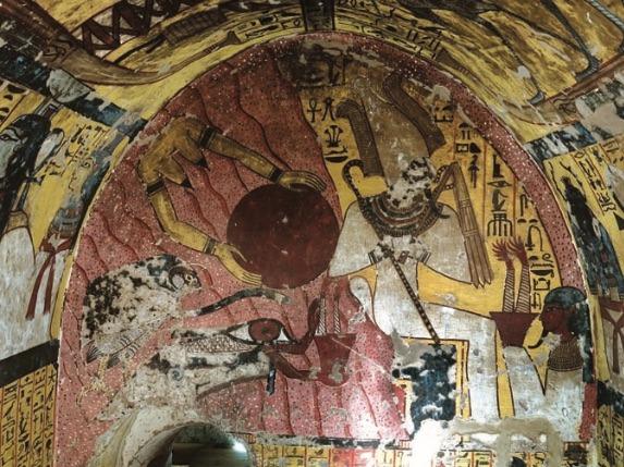 Timpano della stanza mortuaria di Amunnakht