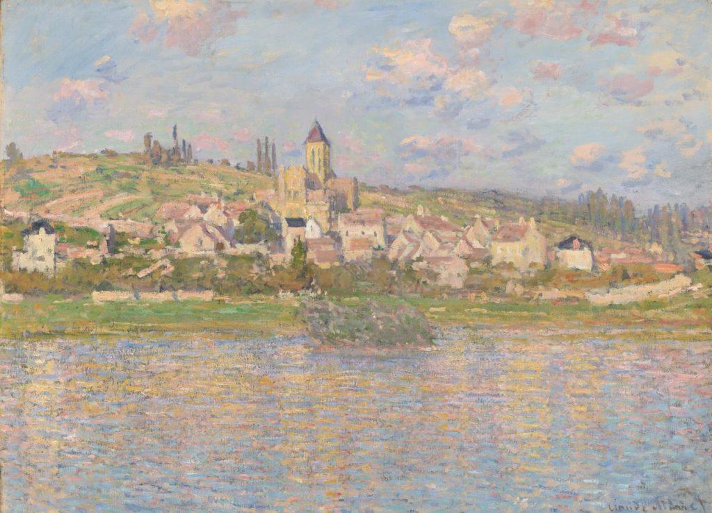 Senna-Claude Monet, Vétheuil, 1879, Melbourne, National Gallery of Victoria