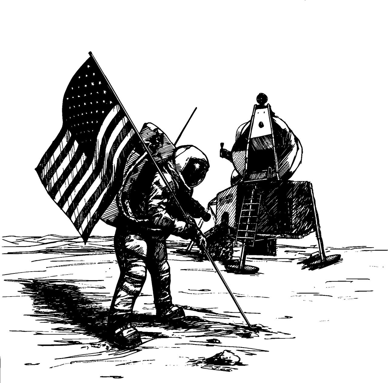 Uomo sulla Luna- ritorno