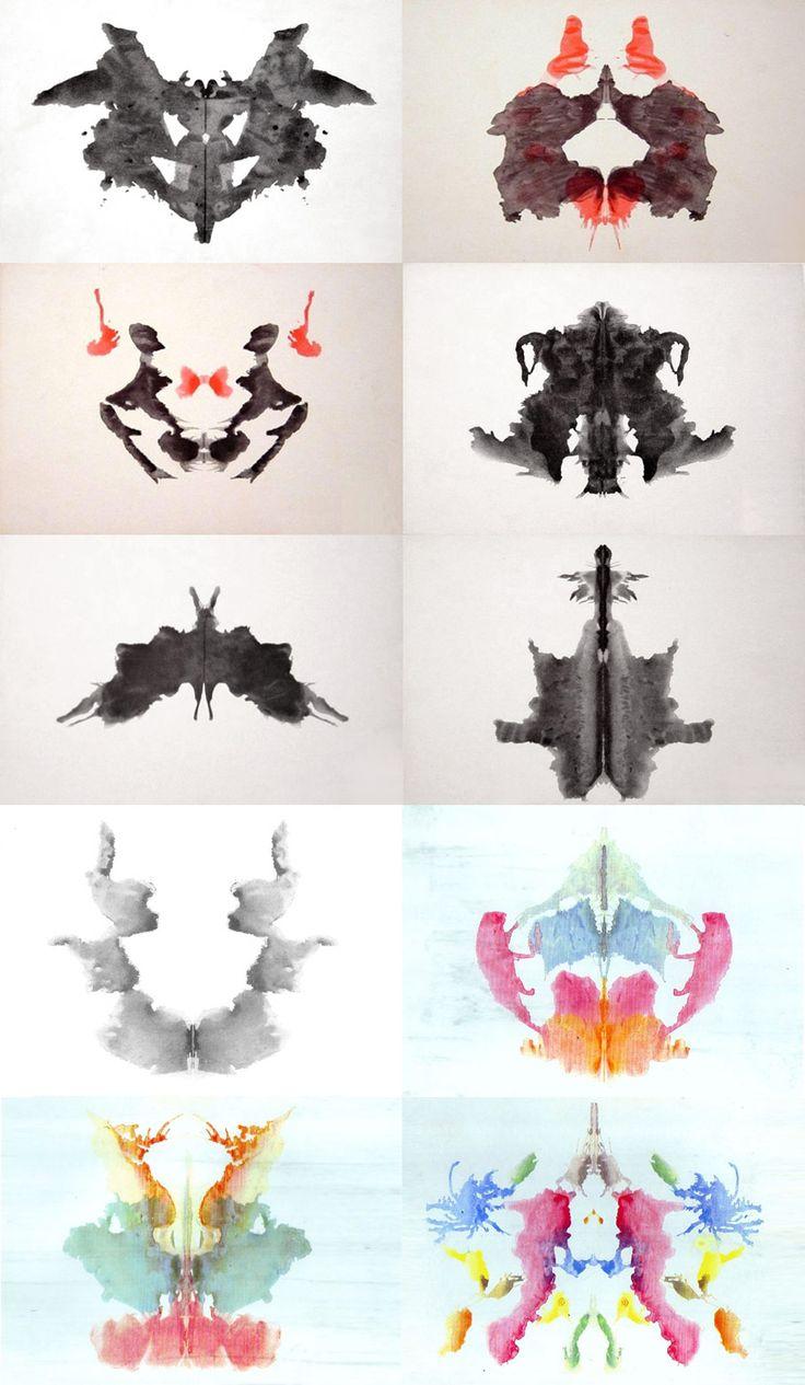 macchie inchiostro test di Rorschach
