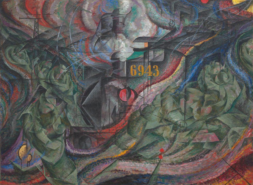 Futurismo Umberto Boccioni, Stati d'animo: Gli Addii,